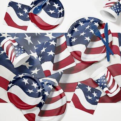 Freedoms Flag Tableware Set DTC2891E2A
