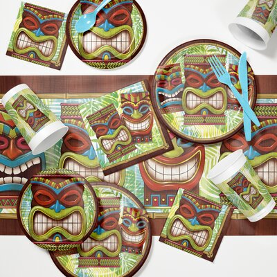 Tiki Time Luau Tableware Set DTC2897E2A