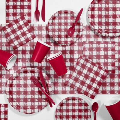 Gingham Picnic Tableware Set DTCRGING2A