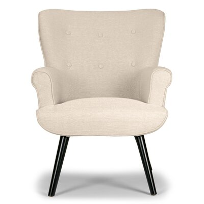 Wozniak Modern Wingback Chair