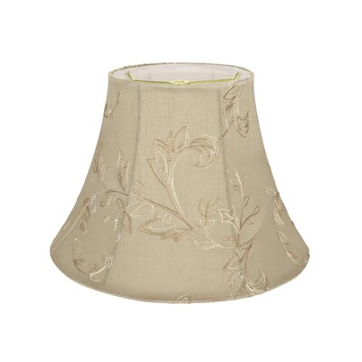Transitional 13 Faux Silk Bell Lamp Shade