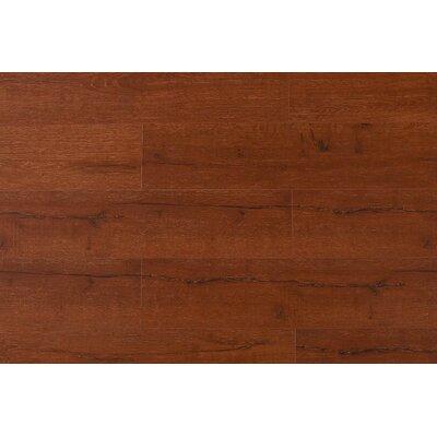 Jeramiah 7 x 48 x 12mm Oak Laminate Flooring in Cherry Wood