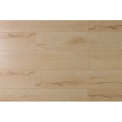 Jeramiah 7 x 48 x 12mm Oak Laminate Flooring in Taupe