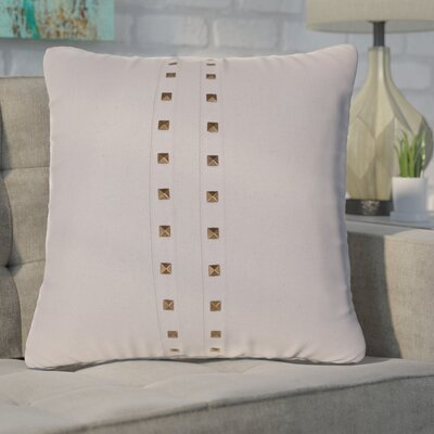 Bosworth Jessa Throw Pillow Color: Natural