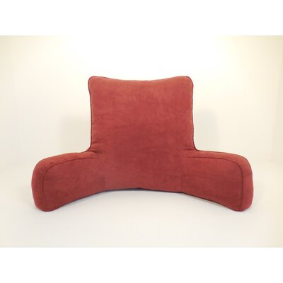 Galaviz 100% Suede Bed Rest Pillow Color: Gray