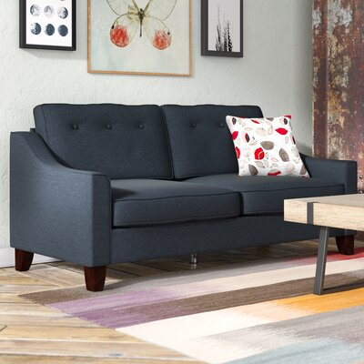 Heron Sofa Color: Blue