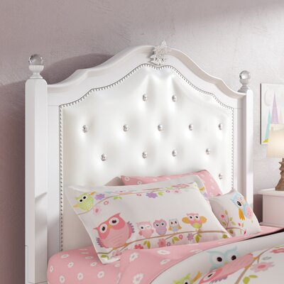 Brooklyn Upholstered Panel Headboard Size: Twin