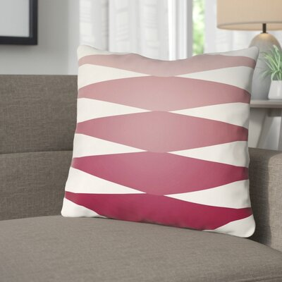 Wakefield Throw Pillow Size: 22 H �x 22 W x 5 D, Color: Red