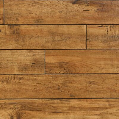 Heartland 5 x 48 x 12mm Maple Laminate Flooring in Rawhide