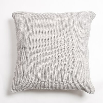 Edan Cotton Throw Pillow Color: Gray
