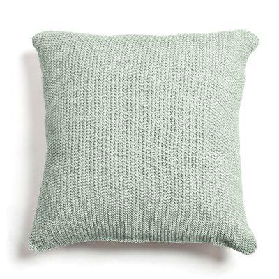 Edan Cotton Throw Pillow Color: Seaglass