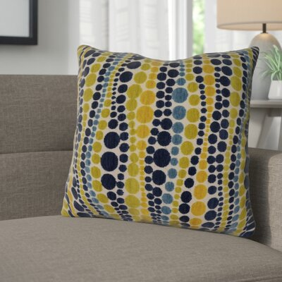 Burdell Throw Pillow Color: Peacock