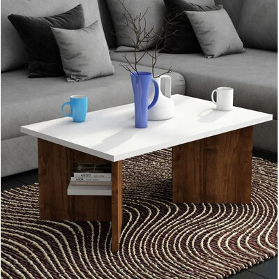 Collins Coffee Table Table Base Color: Wood