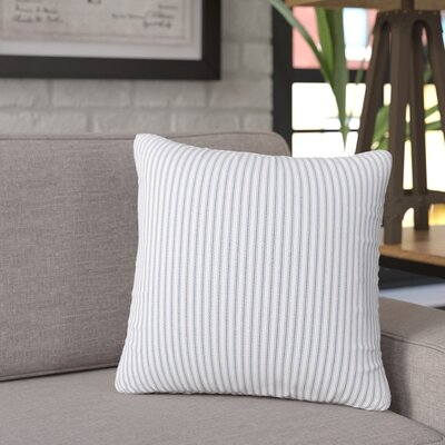 Galento Indoor Throw pillow Size: 26 H 26 W x 6 D, Color: Navy