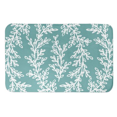 Brumback Wreath Bath Rug