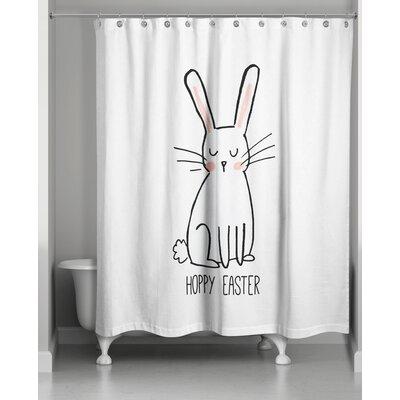 Bevins Hoppy Easter Shower Curtain