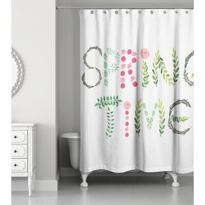 Bevis Spring Time Shower Curtain