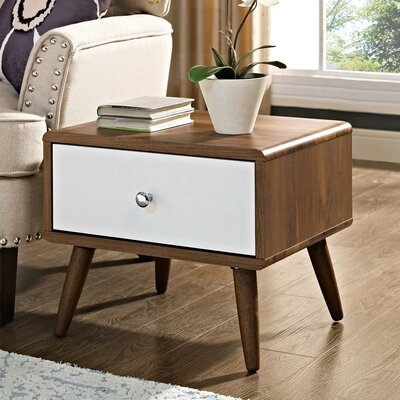 Chien 1 Drawer Nightstand