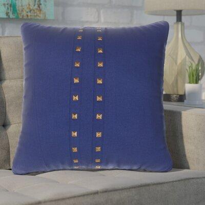 Bosworth Jessa Throw Pillow Color: Indigo