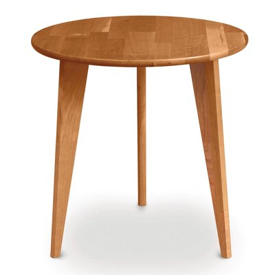 Essentials Round End Table Color: Natural Cherry