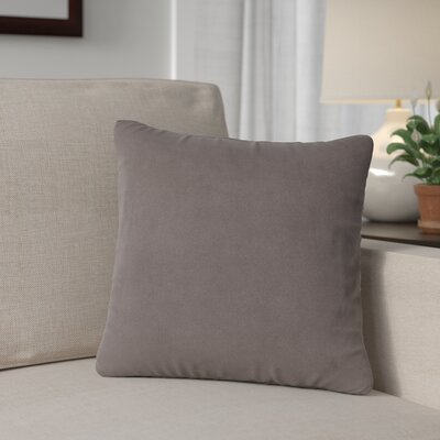 Mattingly Throw Pillow Size: 20 H x 20 W x 4 D, Color: Pewter
