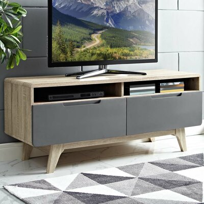 Coledale 47 TV Stand Color: Natural-Gray