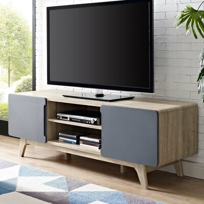 Colbin 59 TV Stand Color: Natural-Gray