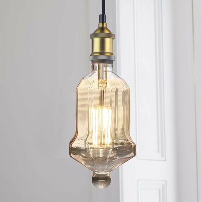 Christenson 1-Light Lantern Pendant