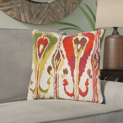 Wittmer Cotton Throw Pillow Color: Fuchsia