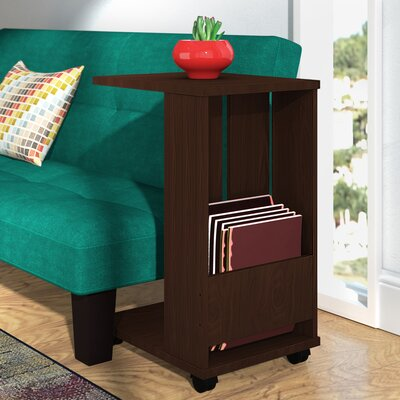 Gilmer End Table Color: Wenge