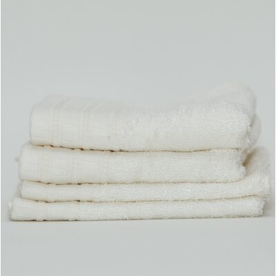 Fetters Classic Rayon from Bamboo 4 Piece Fingertip Towel Set Color: Ivory