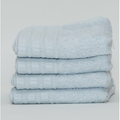 Fetters Classic Rayon from Bamboo 4 Piece Fingertip Towel Set Color: Water