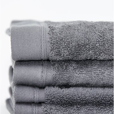Fetterman Classic Cotton Fingertip Towel Color: Dark Anthracite