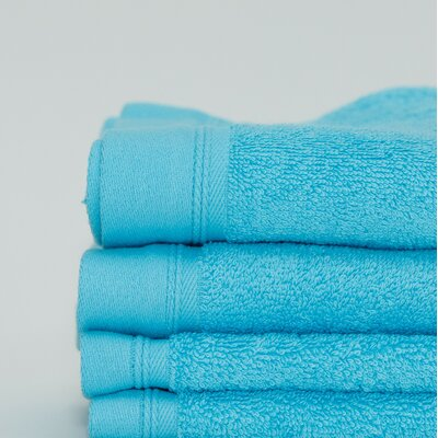 Fetterman Classic Cotton Fingertip Towel Color: Aqua