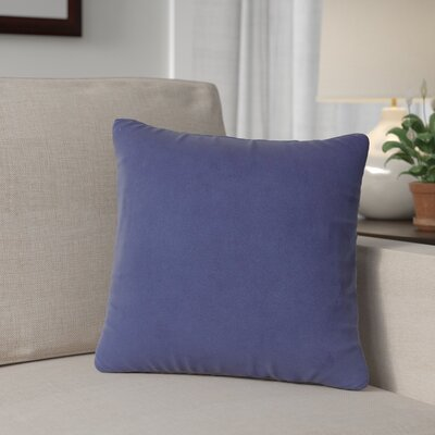 Mattingly Throw Pillow Size: 20 H x 20 W x 4 D, Color: Royal
