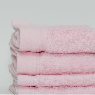 Fetterman Classic Cotton Fingertip Towel Color: Pink