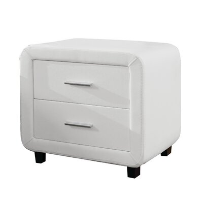 Haskett 2 Drawer Nightstand