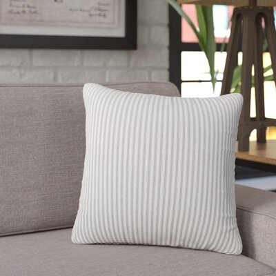 Galento Indoor Throw pillow Size: 20 H 20 W x 6 D, Color: Greige