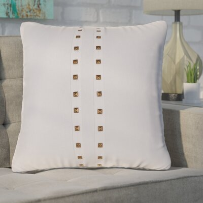 Bosworth Jessa Throw Pillow Color: Cotton