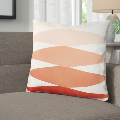 Wakefield Throw Pillow Size: 22 H �x 22 W x 5 D, Color: Orange