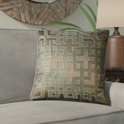 Bethel Throw Pillow Color: Mole