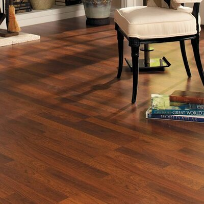 Home with Sound 8 x 47 x 7mm Hickory Laminate Flooring in Brownstone