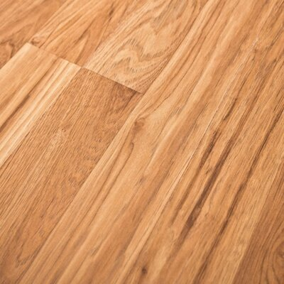 Home and Home Sound 7.5 47 x 7mm Hickory Laminate Flooring in Tan