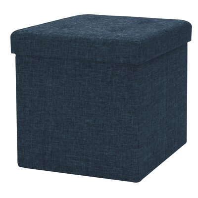 Timko Storage Ottoman (Set of 12) Finish: Black