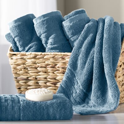 Pierce Hand Towel Color: King Fisher Blue