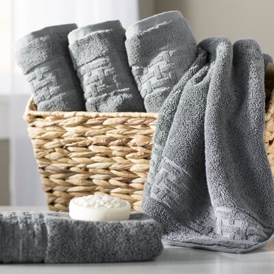 Pierce Hand Towel Color: Stone Grey