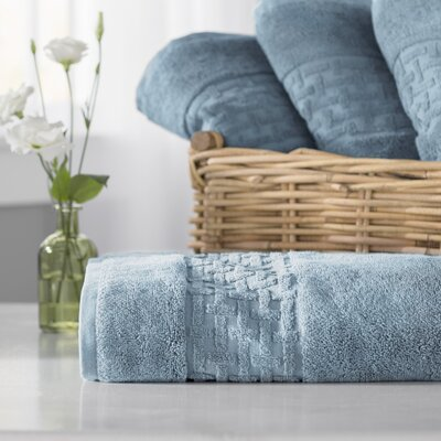 Pierce Bath Towel Color: Faded Denim