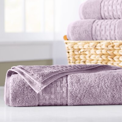 Pierce Bath Sheet Color: April Purple