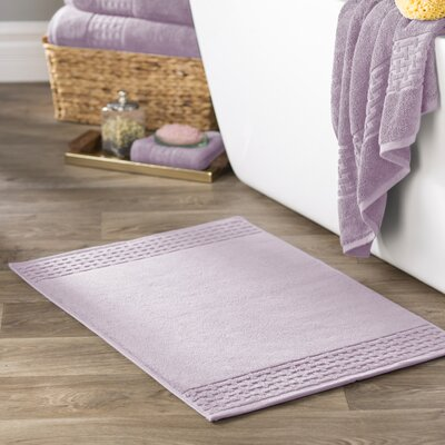 Pierce Bath Mat Color: April Purple