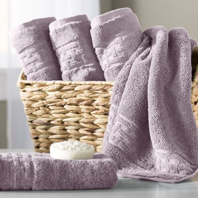 Pierce Hand Towel Color: April Purple